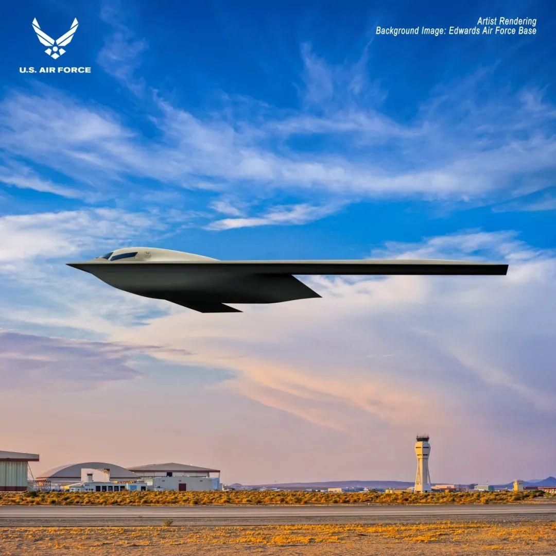 美国空军公布未来轰炸机效果图
