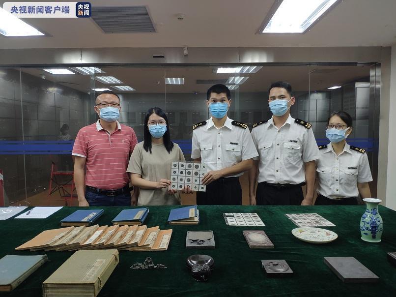 文物走私止步于国门!广州海关向文物部门移交83件走私文物