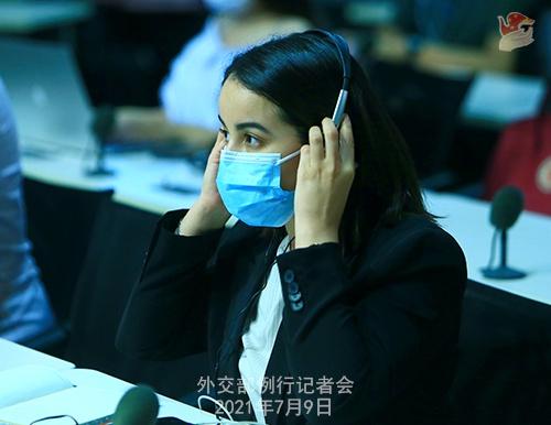 7月9日外交部例行记者会(全文)