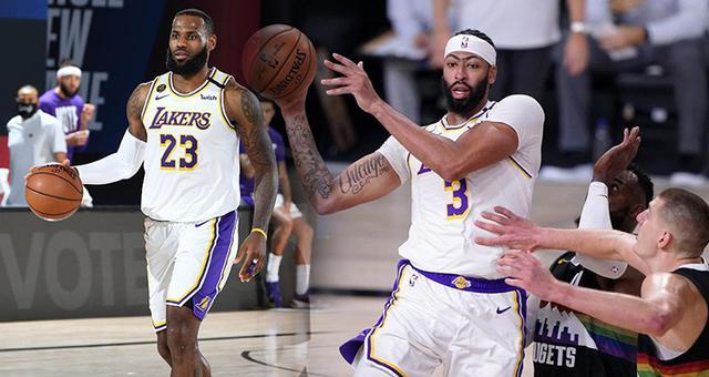 [NBA]詹姆斯三双 湖人逆转未果负掘金