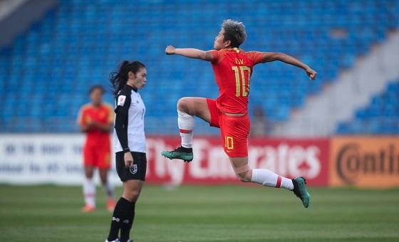 亚洲杯-女足3-1泰国获季军