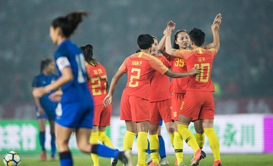 四国赛-中国女足2-0泰国夺冠