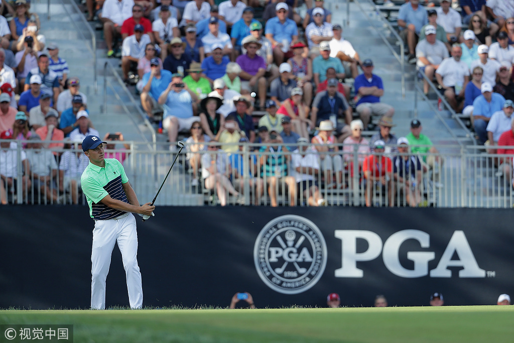 PGA首轮斯皮思表现