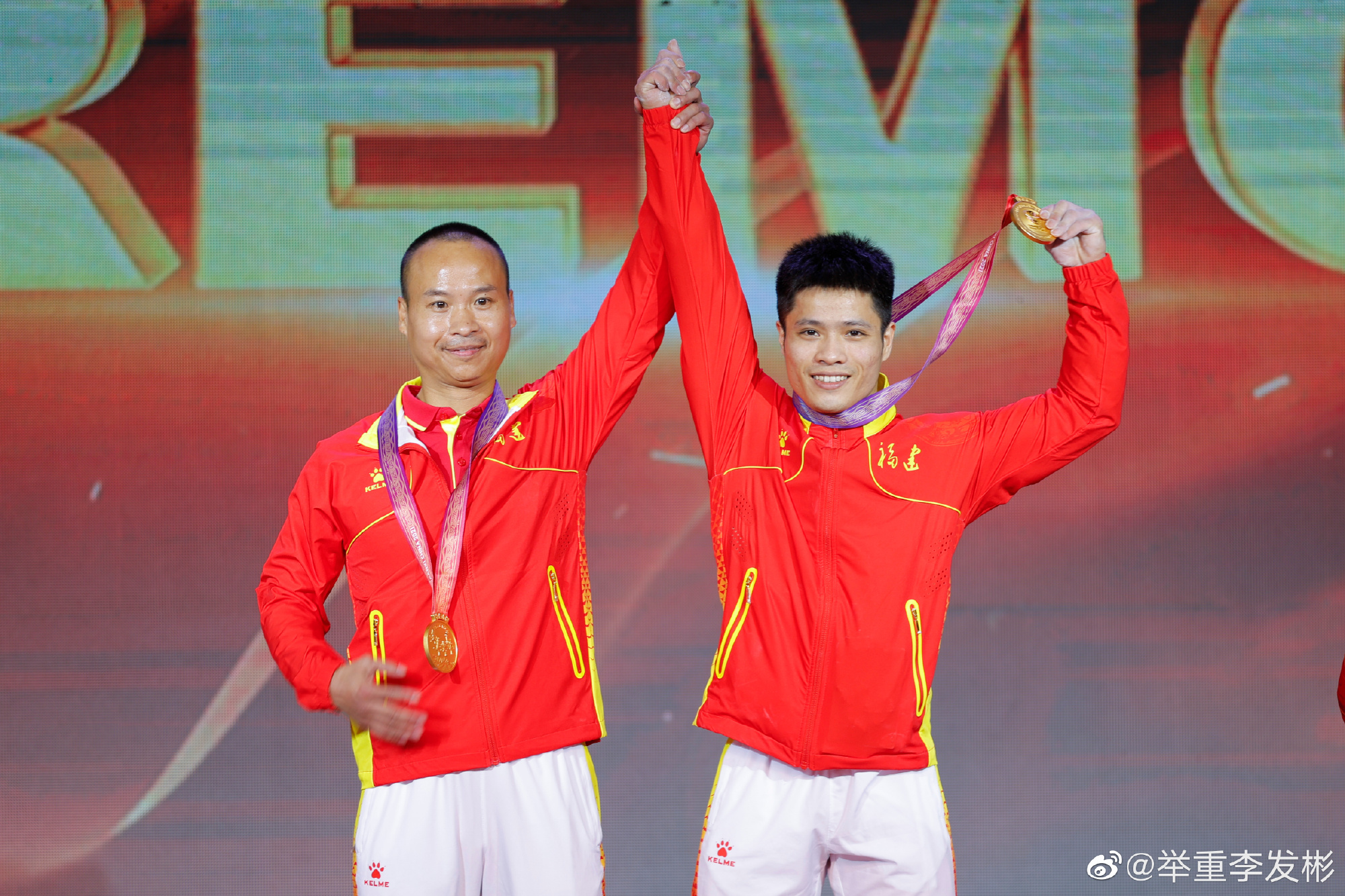 李发彬:中秋节比赛头一回 能卫冕金牌感觉很幸福