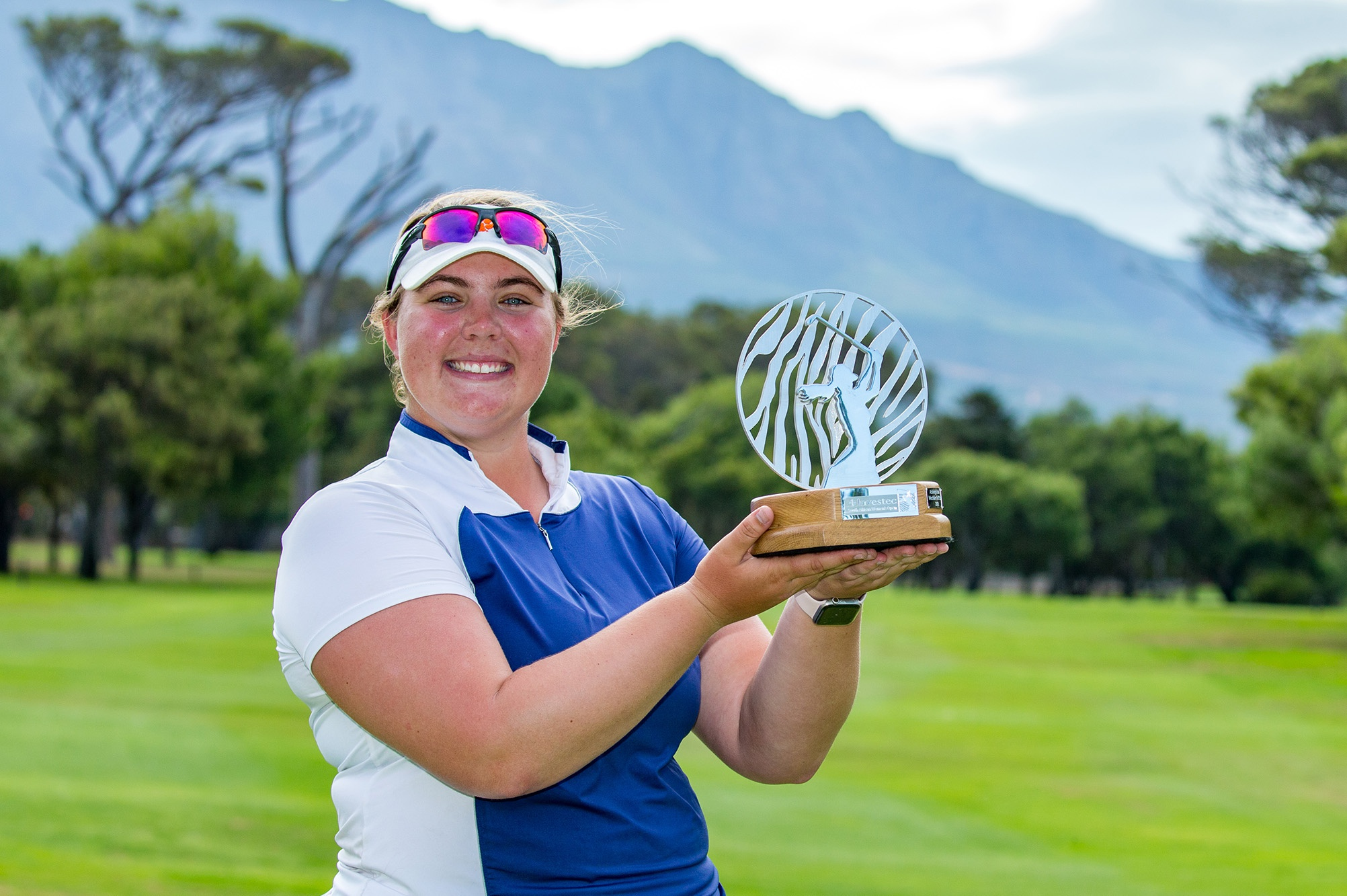 南非女子公开赛:欧巡22岁新人休森首站便夺冠