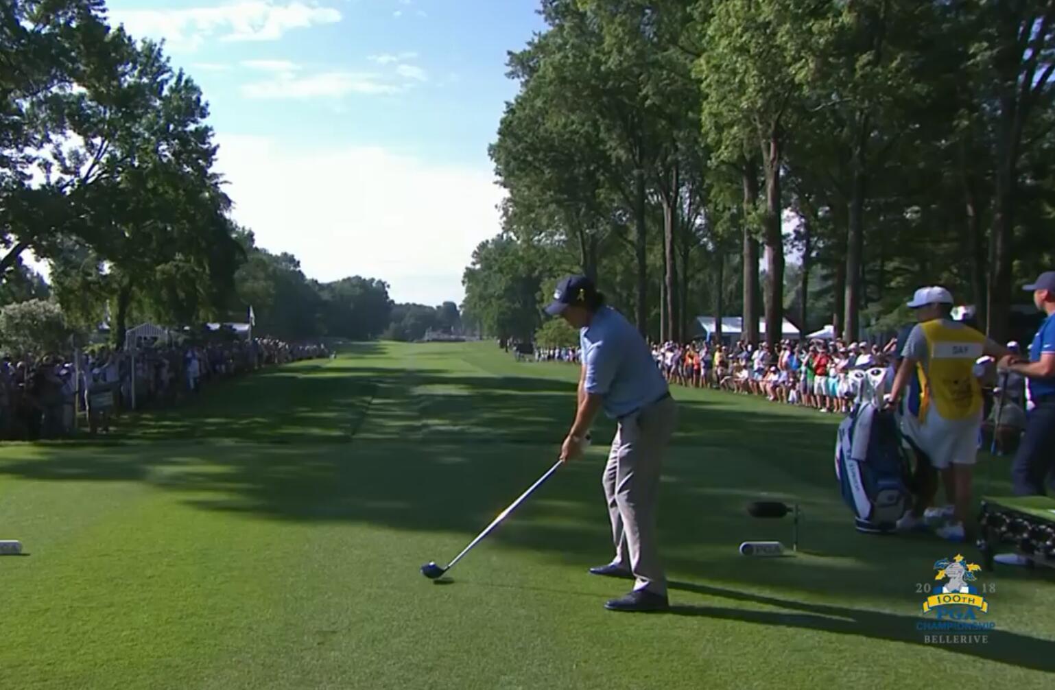老米PGA赛首轮表现