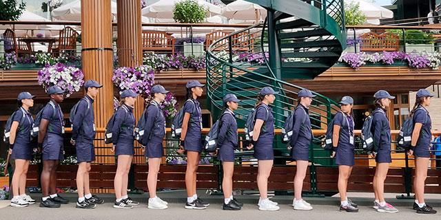 温网球童不好当?揭秘球童台前幕后的故事
