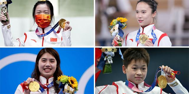 東京奧運中國奪38金平海外最佳戰績
