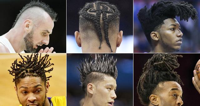 二月二!NBA球迷不容错过的个性发型