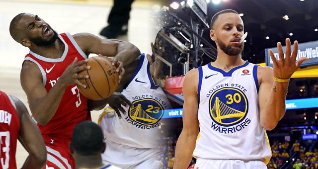 NBA西部决赛III-勇士虐火箭41分 总分2-1