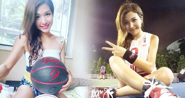 TVB著名火辣女神竟是篮球高手