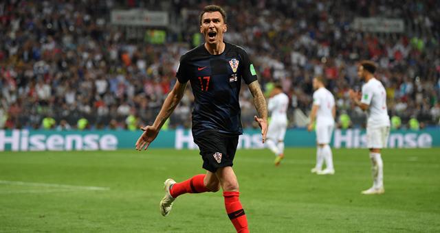 曼朱基奇加时绝杀 克罗地亚2-1英格兰进决赛