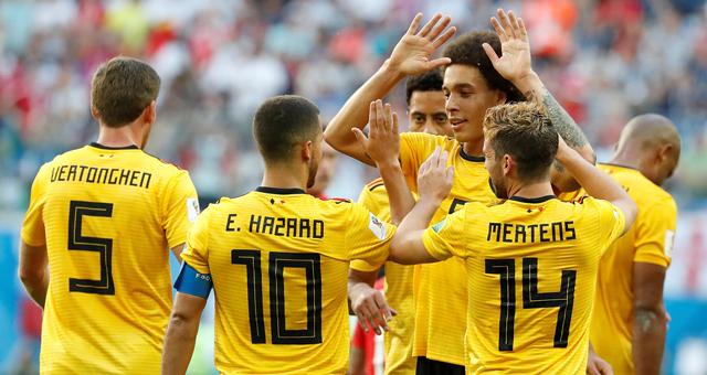 丁丁助攻阿扎尔 比利时2-0英格兰夺季军