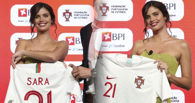 葡萄牙队引进新赞助商 主帅超模助阵