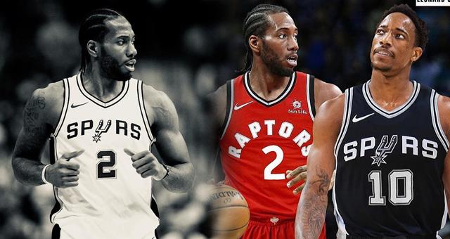 NBA大戏落幕!莱昂纳德与德罗赞互换东家