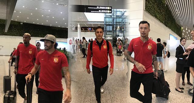 恒大全队返回广州 球员将放假两天