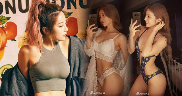韩国网红女教练嫁人前狂秀蛇腰苹果臀