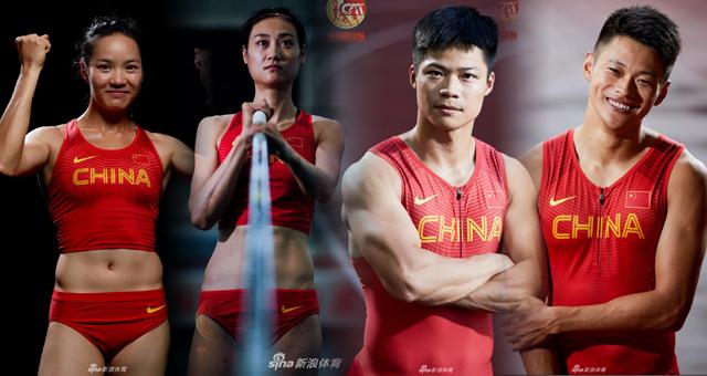 亚运会中国国家田径队写真大片