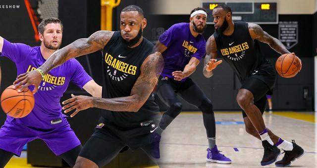 NBA-湖人训练营火热十足 詹皇单打众将防不住