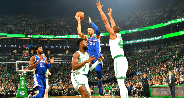 [NBA常规赛]76人87-105凯尔特人