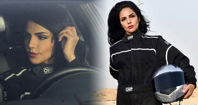 沙特取消女性开车禁令 沙特美女立志当赛车手