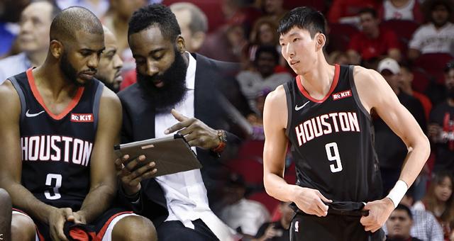 [NBA]火箭主场惨败 哈登缺阵周琦登场