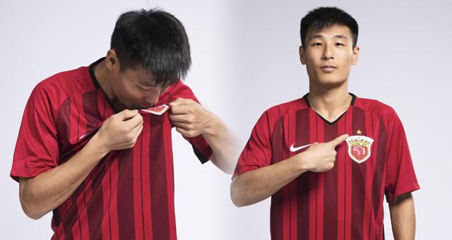 一星荣耀!武磊穿上港冠军系列球衣拍写真