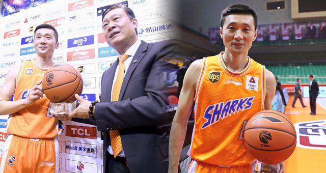 刘炜成为CBA联赛第1个万分后卫