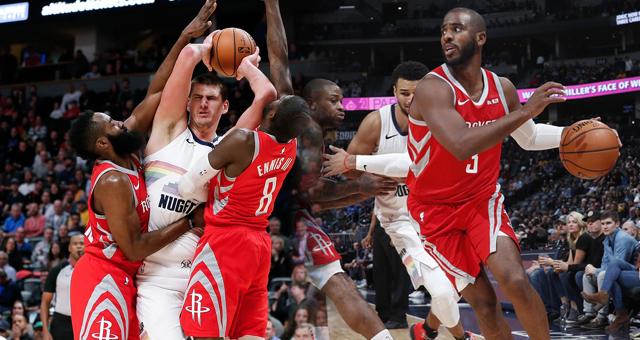 [NBA]火箭109-99掘金 哈登保罗送对手四连败