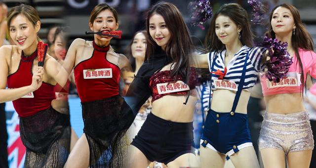CBA第11轮拉拉队美女热舞精选II