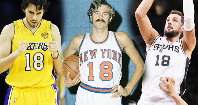 NBA号码传奇:18号