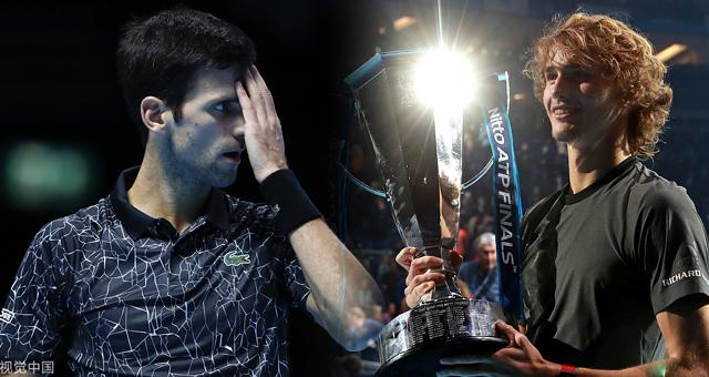 新浪直击ATP总决赛兹维列夫2-0小德夺冠