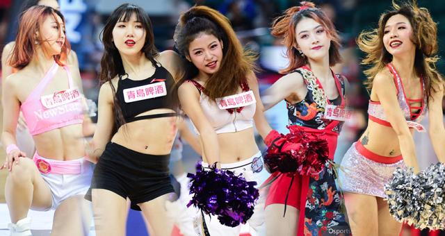 CBA第13轮拉拉队美女热舞精选
