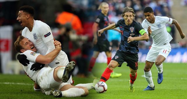 欧国联-英格兰2-1逆转克罗地亚进4强 凯恩绝杀