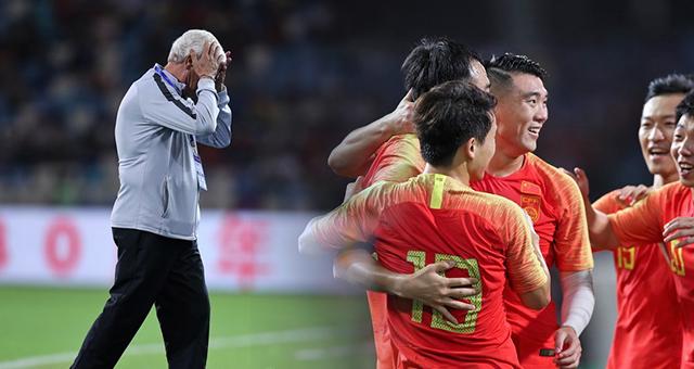 国足1-1巴勒斯坦 防线失误丢球冯潇霆破门