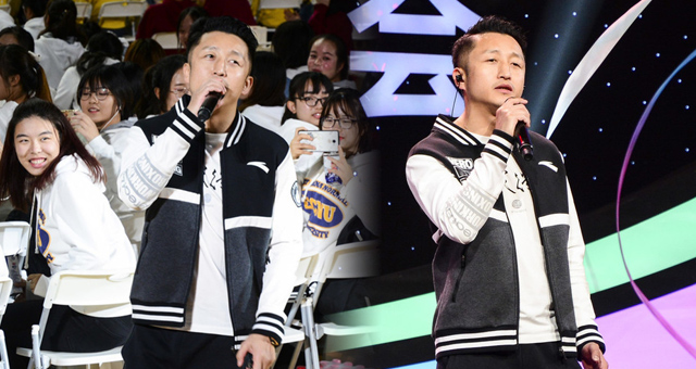 邹市明助阵上海大学生校园歌会