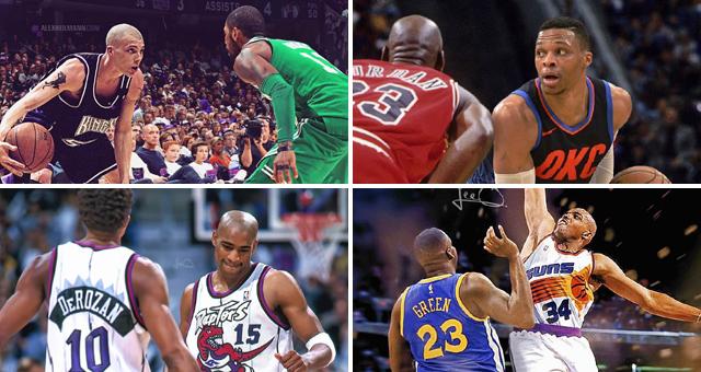 NBA时光机:白巧单挑欧文库里 威少PK乔丹