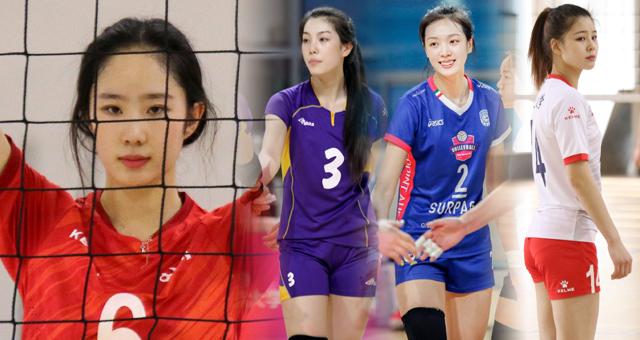 中国大学生排球联赛女排颜值高 有人酷似刘亦菲