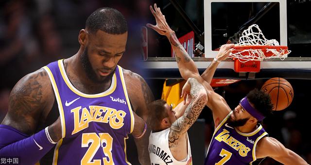 [NBA]湖人85-117掘金 詹皇熄火仅得14分
