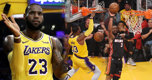 [NBA]热火105-108湖人 詹韦NBA最后一战
