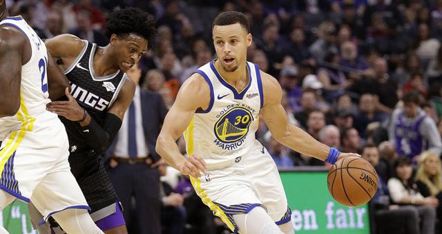 [NBA]三巨头95分勇士客场险胜国王
