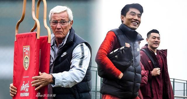 国足海口集训备战亚洲杯 将帅表情迥异