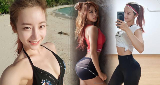 韩国最正普拉提讲师 提臀运动姿势太犯规