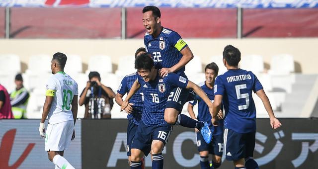 [亚洲杯]日本1-0淘汰沙特晋级八强