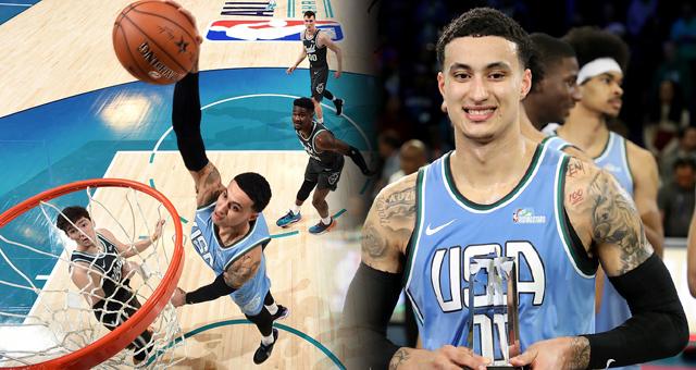 NBA-库兹马加冕全明星新秀赛MVP