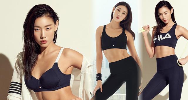 韩国顶级超模惠珍拍运动写真