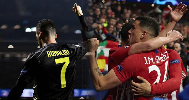欧冠-C罗哑火 尤文客场0-2负马竞