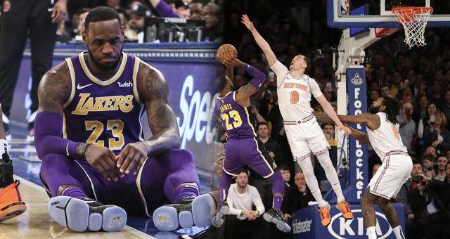 [NBA]湖人123-124尼克斯 詹皇最后一攻被封