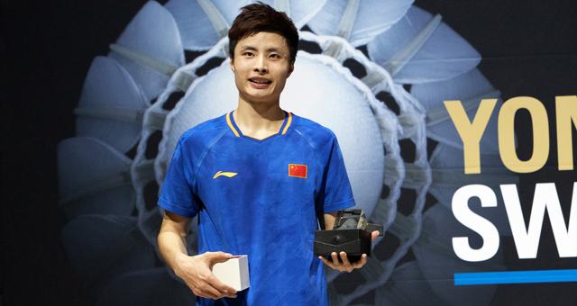 瑞士羽毛球公开赛男单石宇奇夺冠