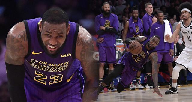 NBA-湖人106-111篮网 彻底无缘季后赛